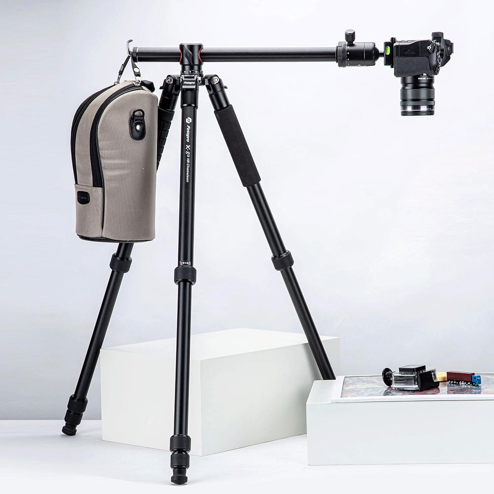 【橫掃千景】FOTOPRO X-go HR 中柱橫置腳架